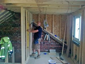 Erecting Walls To Create En-suite